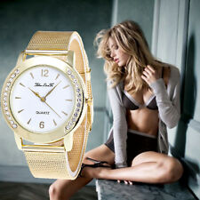 Women Luxury Jewelled Bracelet Watch Stainless Steel Analog Quartz Wrist Watches