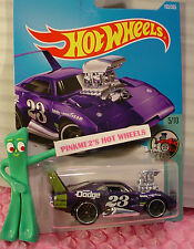'69 DODGE CHARGER DAYTONA #103✰purple:23✰Tooned✰2017 Hot Wheels Case F