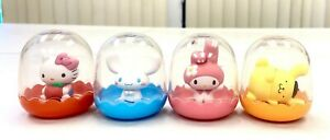 Sanrio Hello Kitty Melody Purin Cinnamoroll Collectible Desktop Figure Toy Set