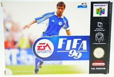 FIFA 99 - komplett in OVP Nintendo 64 N64 boxed CIB + Acryl Box