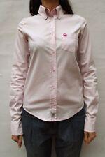 Converse Womens Casual Shirt Light Pink Long Sleeved Stretch M Medium