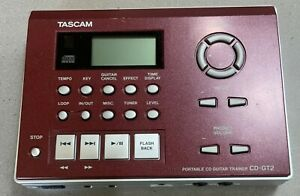 Tascam Portable CD Guitar Trainer CD-GT2 Player (Works/Tested)