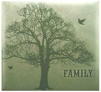 MCS MBI 13.5x12.5 Inch Family Tree Scrapbook Album with 12x12 Inch Pages