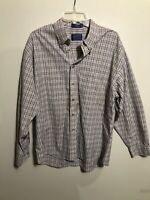 Men's Pendleton Multi-color Plaid Button Down Shirt XL