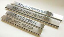 SEAT ALHAMBRA Edelstahl Einstiegsleisten mit Logo