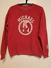 Official Michael Jackson One Cirque Du Soleil red sweatshirt in size M