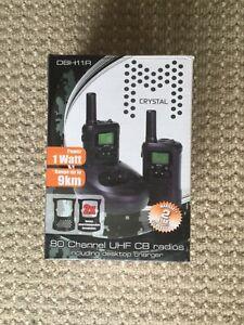 Crystal M DBH11R 80 Channel UHF CB Radio