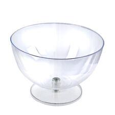 """New Retail 16"""" Diameter Single Clear Plastic Bowl Countertop Display"""