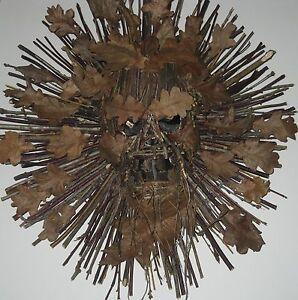 Halloween decorative wreath,  Parties, Atmospheric Decoration hand made