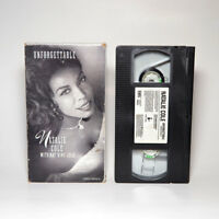 Unforgettable Natalie Cole with Nat King Cole VHS Video