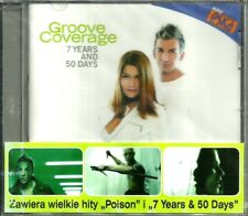 Groove Coverage ‎– 7 Years And 50 Days POLISH RELEASE (Sealed/Folia)