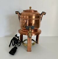 Meteor Coffee Percolator Manning & Bowman Company Vintage 6 Cups Electric