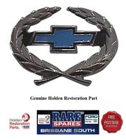 HOLDEN HQ BOWTIE EXPORT CHEV BADGE, WILL SUIT ANY CAR STATESMAN GTS