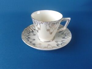 Crown Staffordshire Pendant Cup and Saucer 74919-3