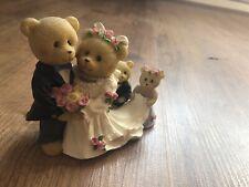 Keepsake Teddies - Wedding Ornament by Avon Great Condition
