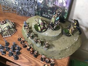Warhammer 40K Death Guard Lot partial Panted with Codex, Chaos Prince and more!