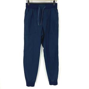 "Lululemon Pants Size XS Mens True Navy ABC Jogger Shorter 28"" Warpstreme Stretch"