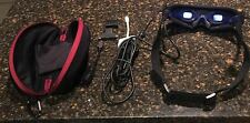 """HD 100"""" Video Glasses 1080p HQ HDMI Input+Lightning Cable For IPhone5 Iphone6+"""