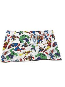 Pottery Barn Kids Marvel Standard Pillowcase Captain America Hulk Iron Man Thor