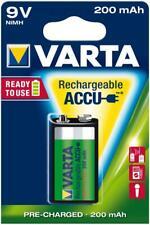 Varta - 56722 (READY 2 USE) Accu Ni-MH 9-Volt Block  200mAh