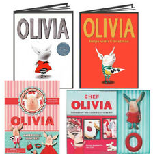 Olivia by Ian Falcon,Olivia Helps with Christmas,Paper Dolls & Cookie Cutter Kit