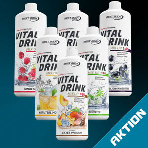 Best Body Nutrition Mineraldrink Low Carb Getränke Konzentrat Vital Drink  Sirup