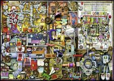 """Jigsaw Puzzles 1000 Pieces """"The inventor cupboard"""" Colin Thompson/Ravensburger"""