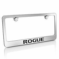 Nissan Rogue Chrome Metal License Plate Frame