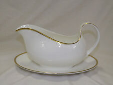 Royal Doulton China Alice Pattern Gravy Boat with Liner Plate