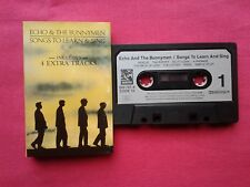 Rare K 7 / Cassette / Echo & The Bunnymen – Songs To Learn & Sing / UK 1985