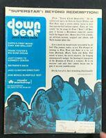 DOWN BEAT MAGAZINE - Dec 9 1971 - Frank Zappa / Don Menza / Frank Foster