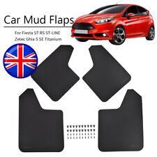 Mud Flaps For Ford Fiesta ST Blue MK6 MK6.5 Mk7.5 MK8 Mudguards Splash Guards
