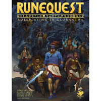 RuneQuest RPG: Roleplaying In Glorantha (Hardcover)