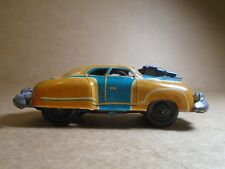 VINTAGE FRICTION POWERED TIN POLICE CAR 1940'S 50'S