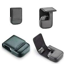 Plantronics Carry Case for Voyager Pro Bluetooth Headset Velcro fastener leather