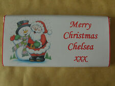 5 x Personalised Chocolate Bars 40g Birthday Party bags. Hen night. baby shower