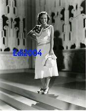 JOAN CRAWFORD Vintage Original 1930 Photo PATRIOTIC July 4th & AUTOGRAPH LETTER