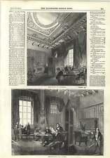 1845 Board Of Trade Deputation President Room Railway Board