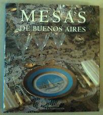 """""""MESAS DE BUENOS AIRES""""- CESAR/VERSTRAETEN- EDICIONES LARIVIERE 1995"""
