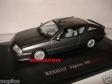 UNIVERSAL HOBBIES 1685 ALPINE RENAULT V6 TURBO GREY  au 1/43°