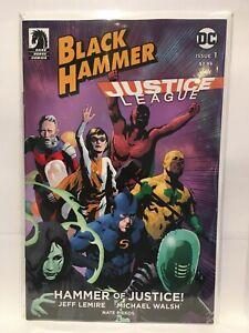 Black Hammer Justice League #1 Cover B NM- 1st Print Dark Horse DC Comics