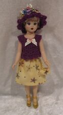 Made to fit COQUETTE CISSY Madame Alexander #03 Top, Hat, Skirt, Purse, Clothes