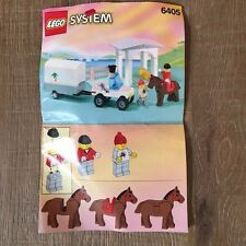 Lego System 6405 Sunset Stables Instruction Booklet Only