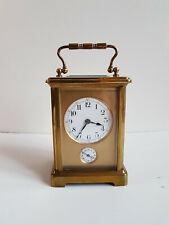 Pendule d'Officier à sonnerie -  pendulette de voyage - carriage clock