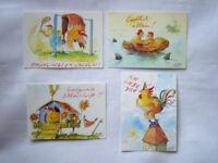 PETER GAYMANN*Cartoon**Postkarte*Henne&Hahn*Liebe*Zweisamkeit....10 x 15*