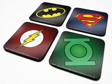 DC Originals (Symbols) 4 Coaster Set *OFFICIAL PRODUCT*