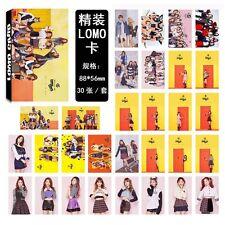30pcs /set Kpop TWICE knock knock Collective Photo PhotoCard Poster Lomo Card