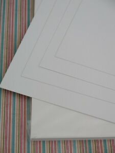 15 x A4 Watercolour Paper/Card Smooth White 300gsm AM533