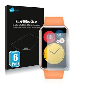 6x Pellicola Protettiva per Huawei Watch Fit Protezione Proteggi Schermo