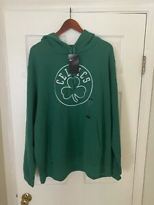 Nike NBA Boston Celtics ☘️ Hoody Basketball Hoodie Mens Top Sweater NWT